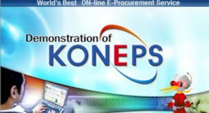 KONEPS – Award winning e-Procurement System